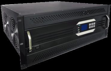 19inch rack mount 110V naar 230V omvormer 8000W zuivere sinus linksvoor