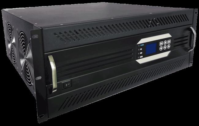 19inch rack mount 220V naar 230V omvormer 8000W zuivere sinus linksvoor