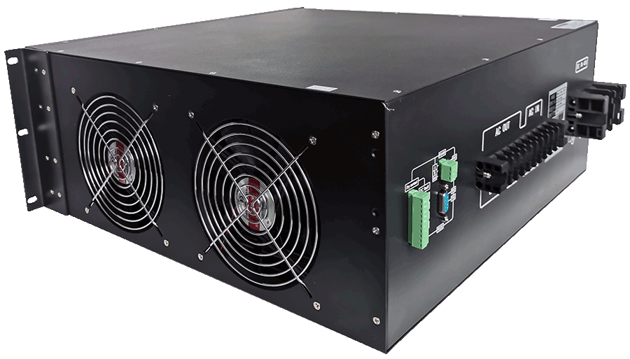 19inch rack mount 220V naar 230V omvormer 8000W zuivere sinus rechtsachter