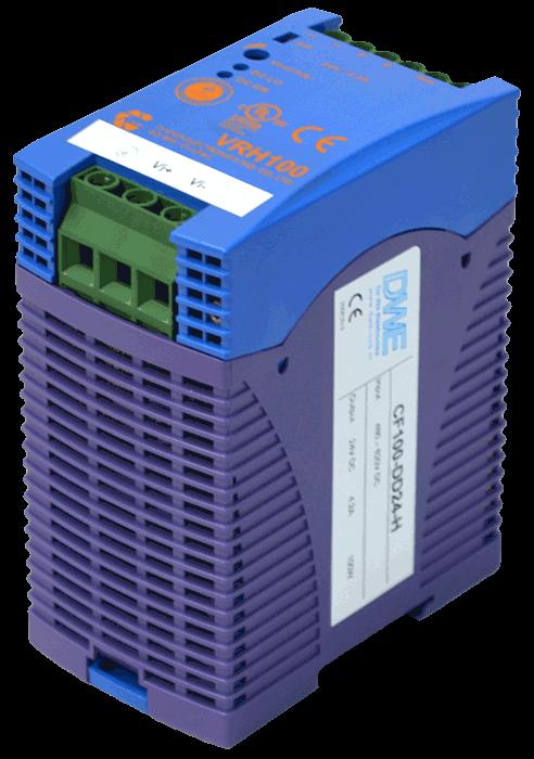 DC/DC converter 550V naar 48V 1000W, 2,1A, geisoleerd, aanzicht rechtsvoor