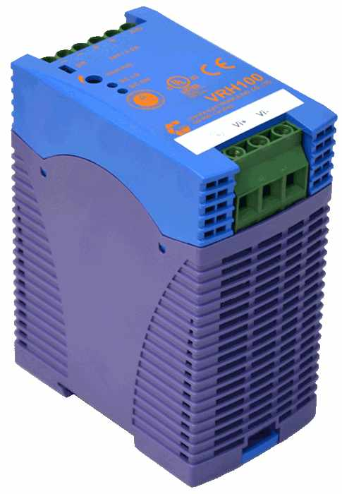 DC/DC converter 700V naar 12V 1000W, 8,4A, geisoleerd, DIN rail