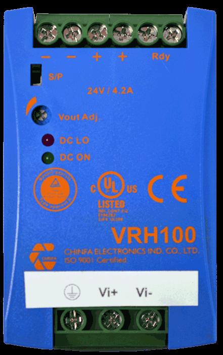 DC/DC converter 550V naar 48V 1000W, 2,1A, geisoleerd, bovenaanzicht
