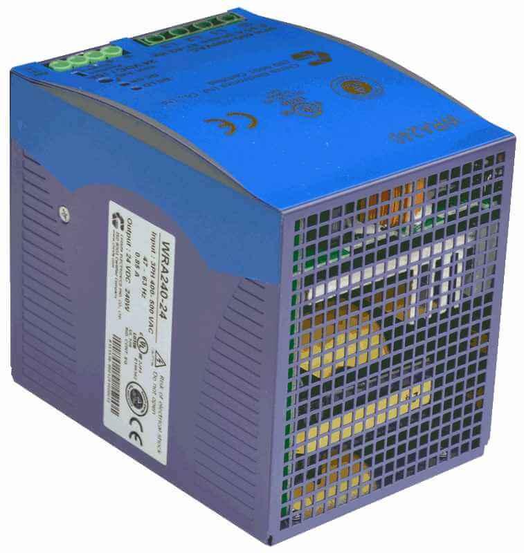 48V DC/DC converter 180W, 3,75A, DIN-rail, type WRA240