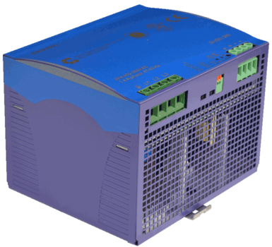 WRA480 3 fase power supply 480W 24V 48V front-left