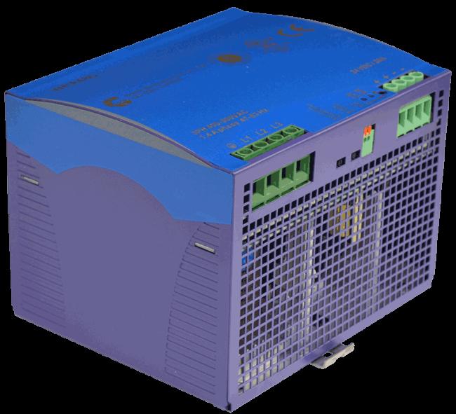 24V DC/DC converter 360W, 15A, DIN-rail