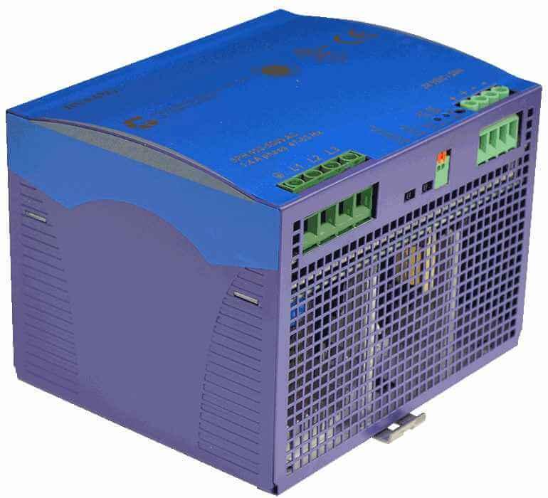 48V DC/DC converter 360W, 7,5A, DIN-rail