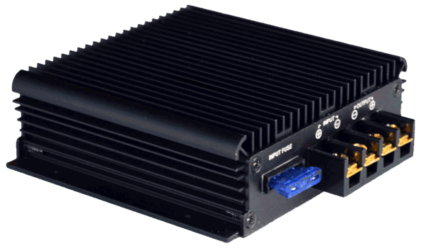 DR240-DD12-H DCDC-converter 60v 72v to 12v front connections