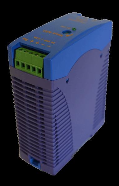 24V DC/DC converter 60W, 2,5A, DIN-rail, type DRAN60