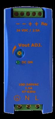 60W gestabiliseerde voeding geschakeld DRAN60 5V 12V 24V DC top