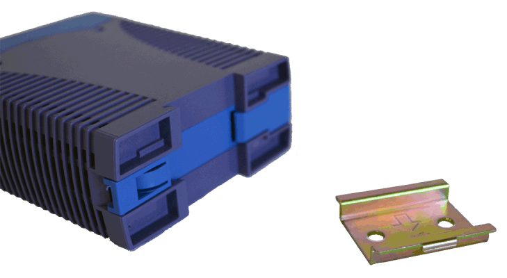 60W gestabiliseerde voeding geschakeld DRAN60 5V 12V 24V DC bottom