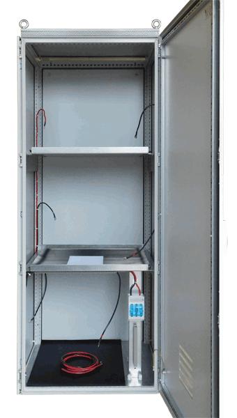 110V noodvoeding batterijkast
