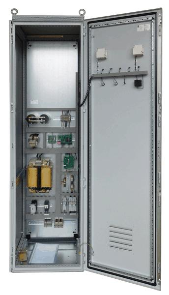 110VDC UPS aanzicht binnenzijde
