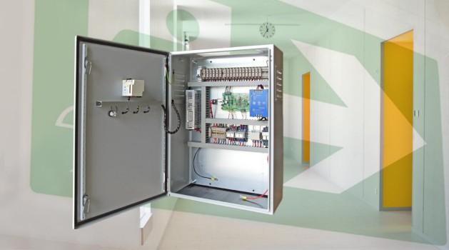 DWE centraal noodverlichting systeem 12V 24V 48V 230V