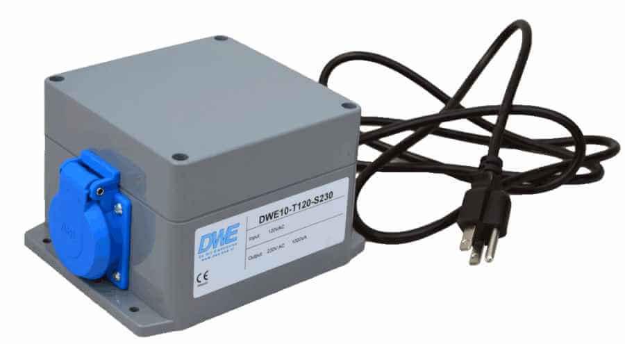 Transformator 120V naar 230V met stekker