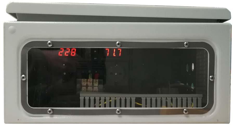 IP54 omvormer 24V naar 230V zuivere sinus 3200W, display