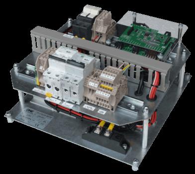 800W 24V gelijkrichter voor DC UPS vooraanzicht