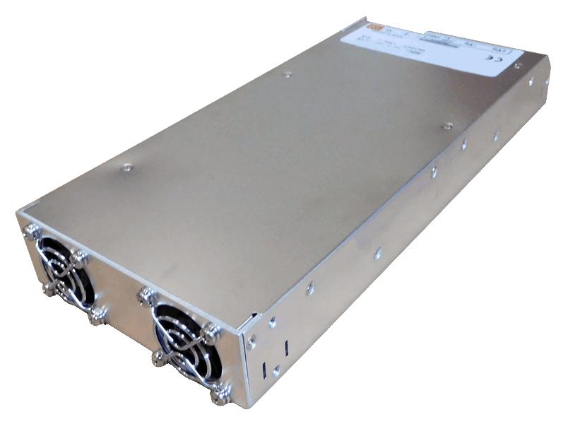 DC/DC converter 36V naar 48V 1000W geisoleerd, achterzijde