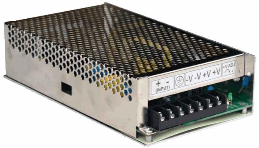 DC/DC converter 150w 110V naar 24V connections