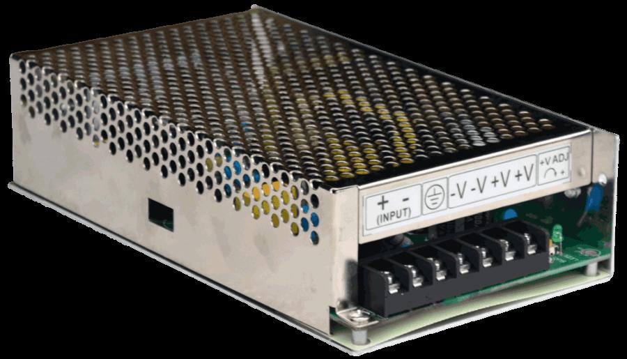 DC/DC converter 150w 48V naar 24V connections