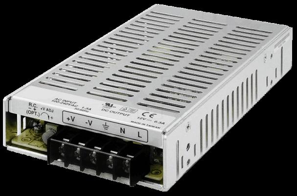 MW75-PS gestabiliseerde voeding 5V 12V 15V 24V 48V rechtsvoor