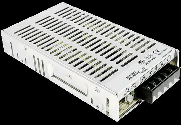 MW75-PS gestabiliseerde voeding 5V 12V 15V 24V 48V linksvoor