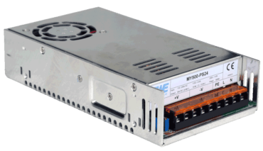 12V power supply 33A, current source 500W front left view