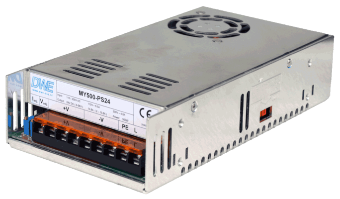 500W power supply,12V, 24V, 27V, 36V, 48V, 60V, current source, right front