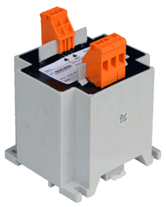 230V naar 12V transformator 40VA geisoleerd, primaire kant