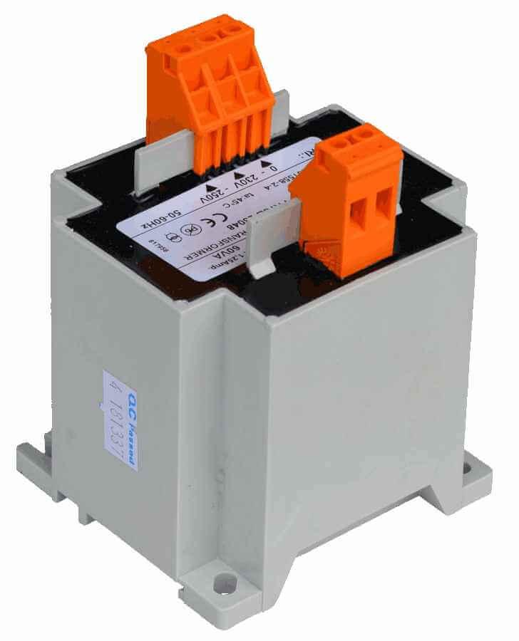 transformator 230V naar 12V 90VA geisoleerd, secundaire kant