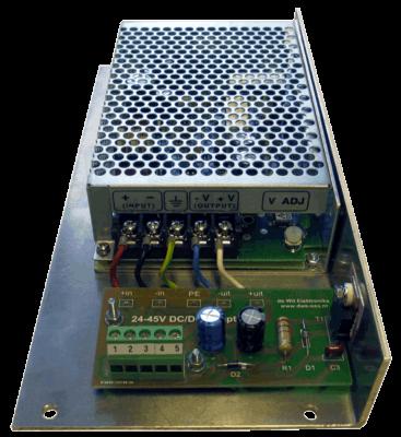 Omvomer converter 36 naar 12V bovenkant