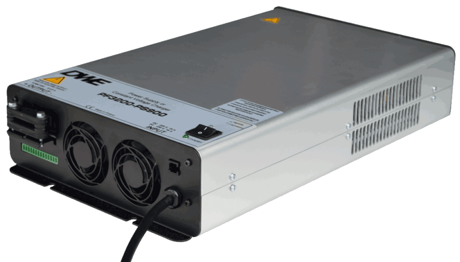 power supply 0V to 36V, 95.5A current source, 3200W isolated, rear