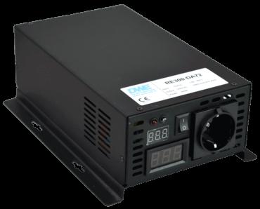 omvormer 48V naar 230V zuivere sinus 300W , voorzijde
