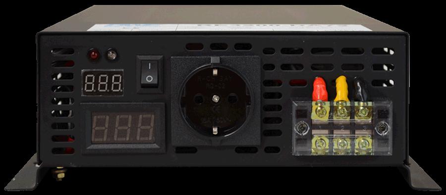 36V naar 230V omvormer 3200W zuivere sinus aansluitingen
