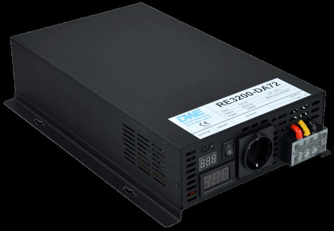 omvormer 110V naar 230V zuivere sinus 3200W , voorzijde