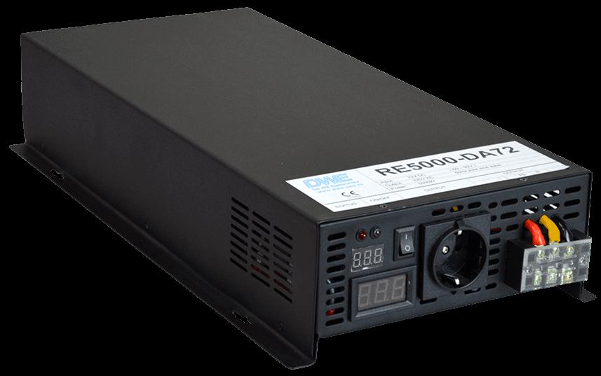 omvormer 36V naar 230V zuivere sinus 5000W , voorzijde