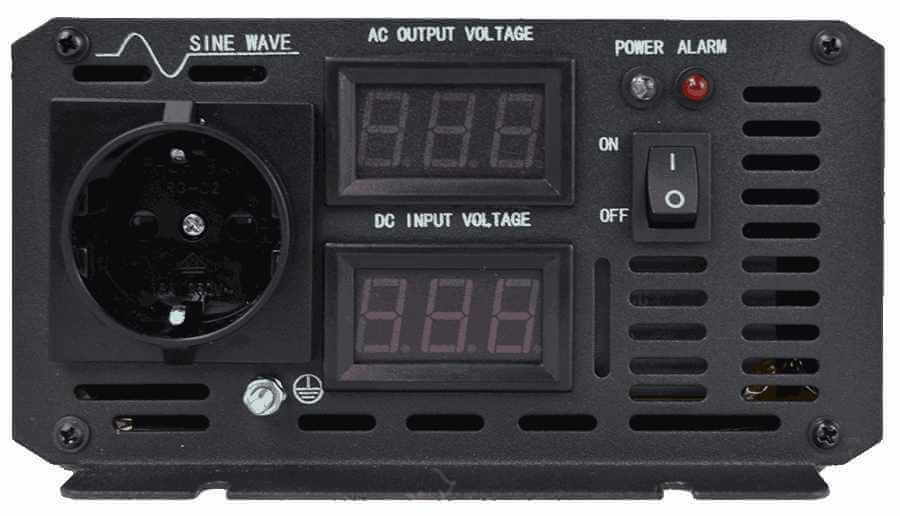 60V naar 230V omvormer 4000W zuivere sinus aansluitingen
