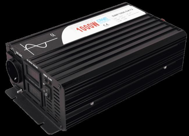 60V naar 230V zuivere sinus inverter 1000W , voorzijde