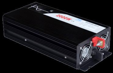 60V naar 230V zuivere sinus inverter 2000W , voorzijde