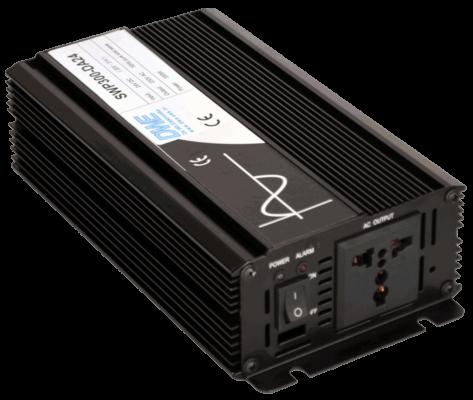 12v 24v 48v naar 230v AC omvormer inverter 300W zuivere sinus aansluiting
