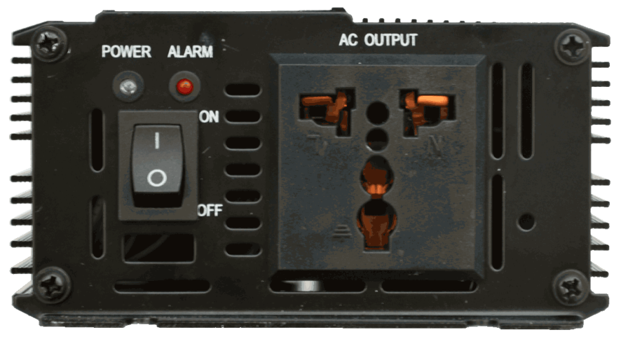 12v 24v 48v naar 230v AC omvormer inverter 300W zuivere sinus universeel stopcontact
