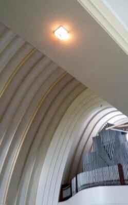noodverlichting kerk 24v gloelamp jaren 30