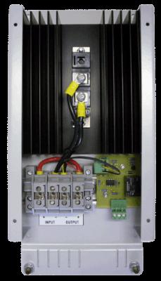 scheidingsdiode frame diodebewaking alarm bovenaanzicht